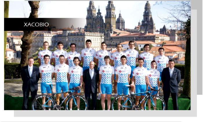 Spanish Cycling Team, XACOBIO / Official Sponsor pic