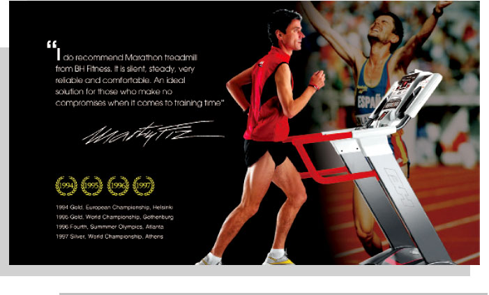 Four Times World Marathon Champion, Martin Fiz / Europe pic